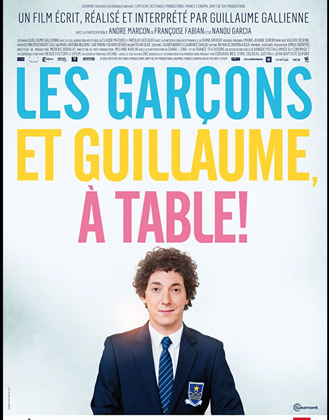 les garcons et Guillaume, a table - Movie