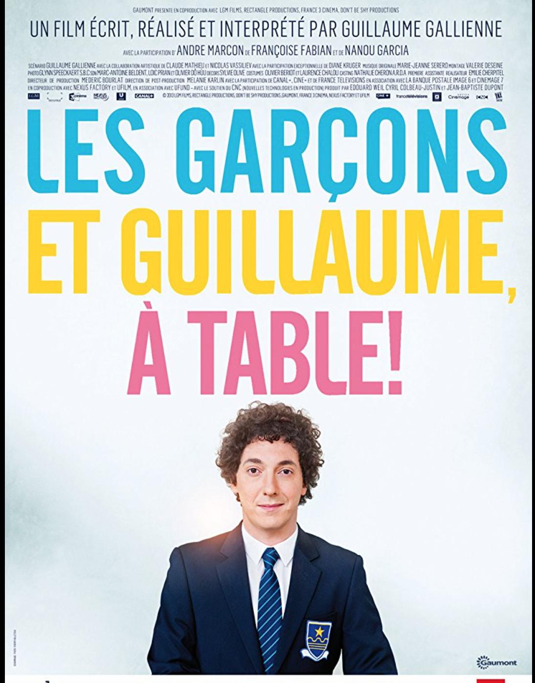 les garcons et Guillaume, a table - Movie